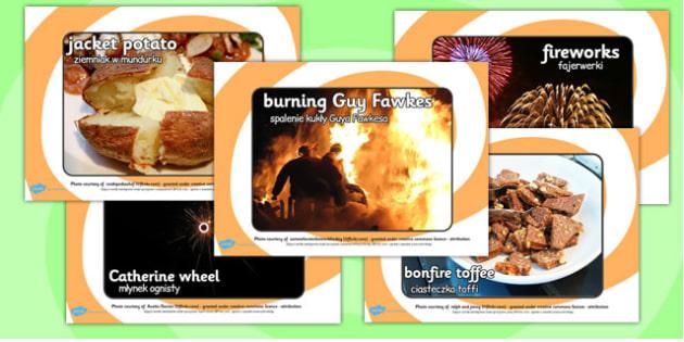 Bonfire Night Display Photos Polish Translation - polish, bonfire night, display, photos