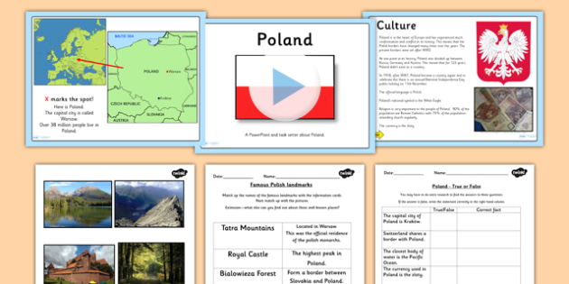 Multiplication Word Problem Worksheets Word Lesson Teaching Pack  Countries Geography Country Character Worksheet For Writers Excel with Super Teacher Worksheets Nouns Pdf Poland Lesson Teaching Pack  Countries Geography Country Triangle Trade Worksheet Pdf