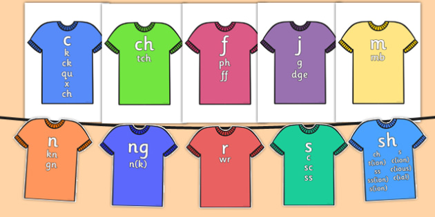 Sound Family T-shirts - sound family, t-shirt, sound, family, sounds, words, phonics