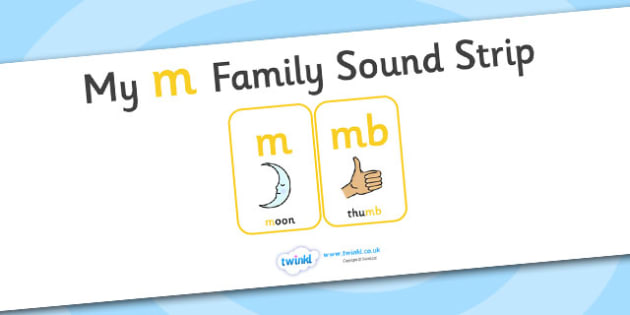 My m Family Sound Strip - family sound strip, sound strip, my family sound strip, my m sound strip, m sound strip, m family sound strip