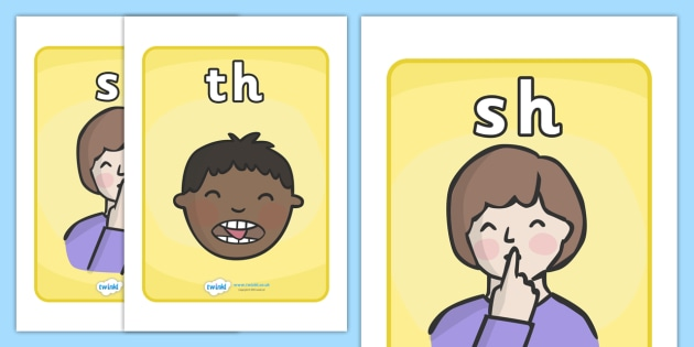 tricky sounds, pronunciation, posters, speech, language, talking