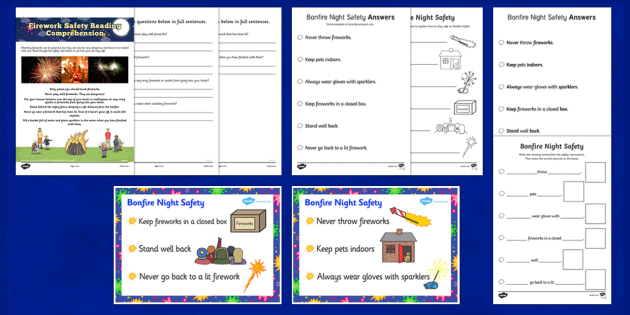 Bonfire Night Safety Poster Resource Pack