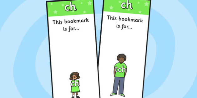 ch Sound Family Editable Bookmarks - ch sound family, editable bookmarks, bookmarks, editable, behaviour management, classroom management, rewards, awards