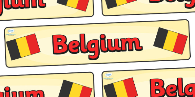 Belgium Display Banner - Belgium, Olympics, Olympic Games, sports, Olympic, London, 2012, display, banner, sign, poster, activity, Olympic torch, flag, countries, medal, Olympic Rings, mascots, flame, compete, events, tennis, athlete, swimming