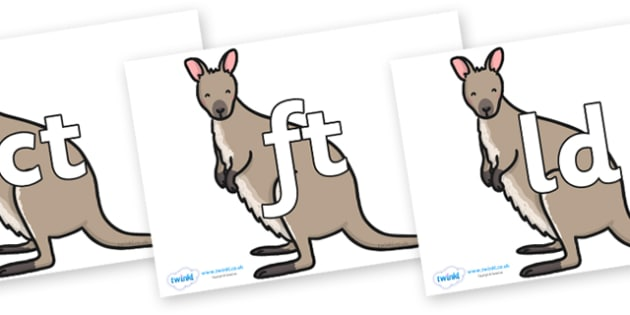 Final Letter Blends on Wallaby - Final Letters, final letter, letter blend, letter blends, consonant, consonants, digraph, trigraph, literacy, alphabet, letters, foundation stage literacy