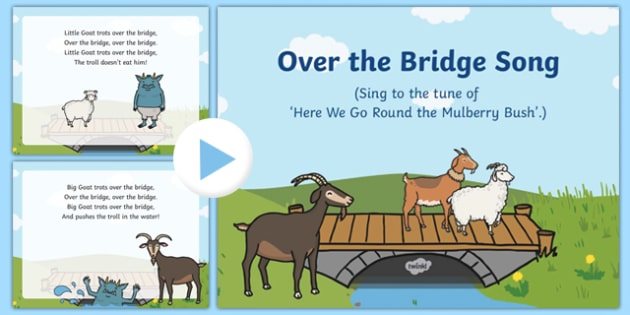 Over the Bridge Song PowerPoint