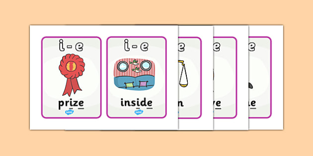 Phase 5 GPC Picture Cards - Phase 5, suggested words for practising reading and spelling, suggested words, GPC, GPCs, Phase five, Word cards, DfES Letters and Sounds, Letters and sounds, phase 5 activity