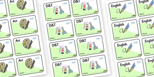 Newt Themed Editable Book Labels - Themed Book label, label, subject labels, exercise book, workbook labels, textbook labels
