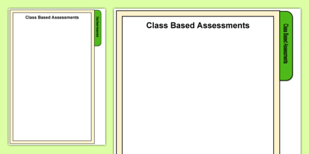 Foundation Phase Class Based Assessments Tab A4 Display Poster-Welsh