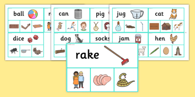 Rhyme Peg Matching Activity - rhyme, peg, matching, activity