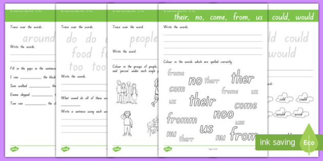 New Zealand Essential Spelling List 4 Activity Sheets, worksheet