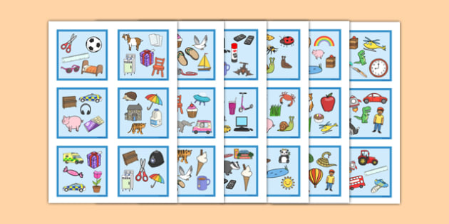 Advanced Snap Card Game Mixed Images - advanced, snap card, game, mixed, images