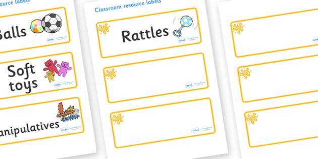 Orange Themed Editable Additional Resource Labels - Themed Label template, Resource Label, Name Labels, Editable Labels, Drawer Labels, KS1 Labels, Foundation Labels, Foundation Stage Labels, Teaching Labels, Resource Labels, Tray Labels, Printable l