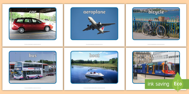 Transport Photo Pack - transport, photo pack, photo, pack, eal, language