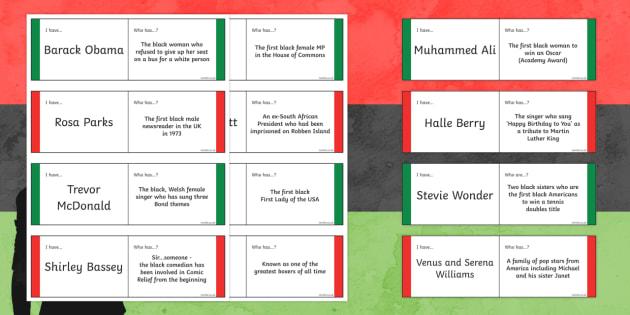 Black History Month Loop Cards