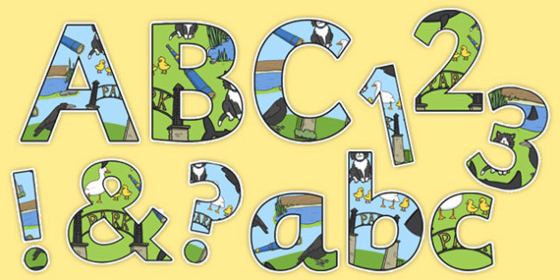 Is That a Shark? Display Lettering Pack - shark in the park, Nick Sharratt, storybook