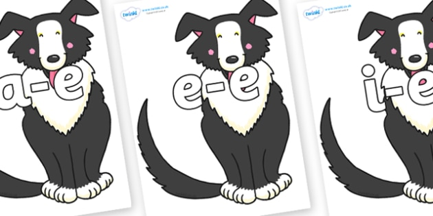 Modifying E Letters on Hullabaloo Sheepdog to Support Teaching on Farmyard Hullabaloo - Modifying E, letters, modify, Phase 5, Phase five, alternative spellings for phonemes, DfES letters and Sounds