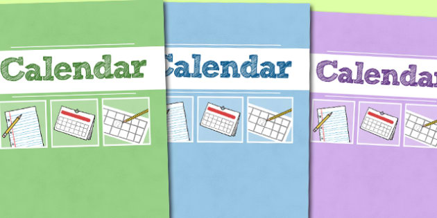 A4 Calendar Divider Covers-calendar, diver covers, divider covers, A4, months, years, A4 divider covers, dates on the calendar