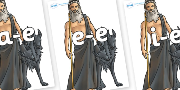 Modifying E Letters on Hades - Modifying E, letters, modify, Phase 5, Phase five, alternative spellings for phonemes, DfES letters and Sounds