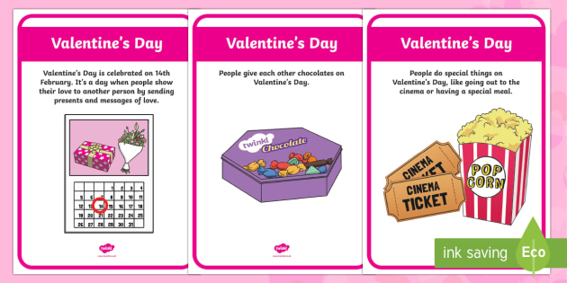 Valentine's Day Display Facts Posters - Valentine's Day,  Feb 14th, love, cupid, hearts, valentine,