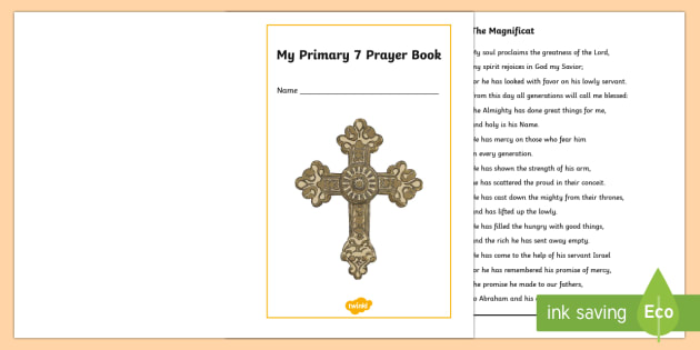 My Primary 7 Prayer Book - CfE Catholic Christianity, prayers, mass responses ,Scottish