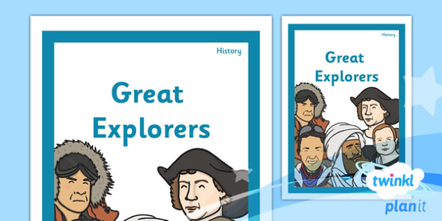 History: Great Explorers KS1 Unit Book Cover