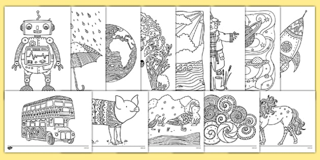 More Mindfulness Colouring Bumper Pack - more mindfulness, colouring, bumper pack, mindfulness, colour