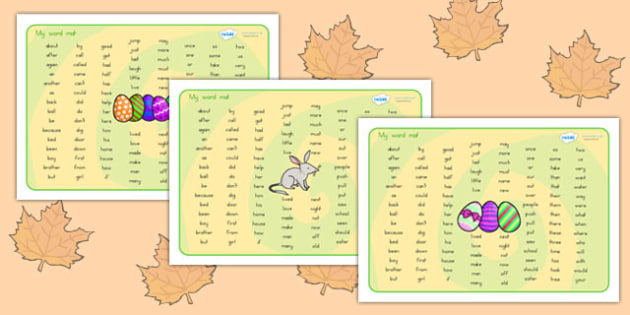 Easter Theme Phase 2 Word Mat KS1 - easter, visual aid, religion