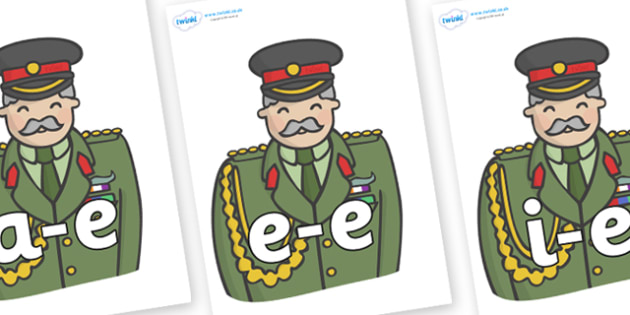 Modifying E Letters on Sargeants - Modifying E, letters, modify, Phase 5, Phase five, alternative spellings for phonemes, DfES letters and Sounds
