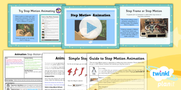 Computing: Animation: Stop Motion Animation Year 4 Lesson Pack 5