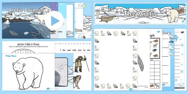 The Arctic Resource Pack - Arctic, polar regions, antarctic,