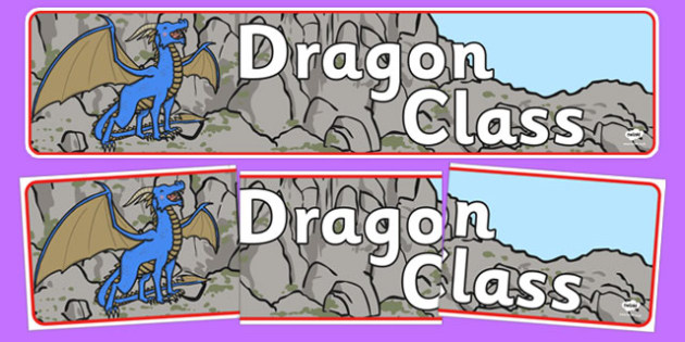 Dragon Class Display Banner - dragon class, display banner, display, banner, dragon, class