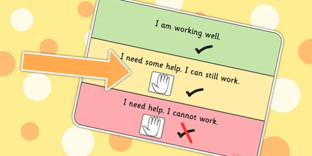 On Task Visual Support Cards - learning support, SEN, tasks