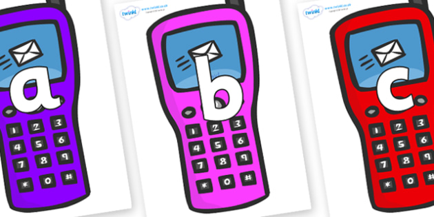 Phoneme Set on Mobile Phone - Phoneme set, phonemes, phoneme, Letters and Sounds, DfES, display, Phase 1, Phase 2, Phase 3, Phase 5, Foundation, Literacy