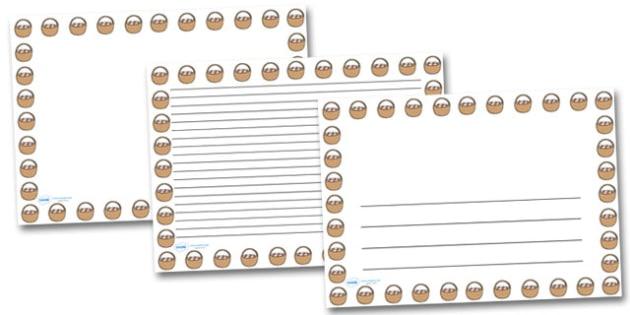 Easter Basket Landscape Page Borders- Landscape Page Borders - Page border, border, writing template, writing aid, writing frame, a4 border, template, templates, landscape