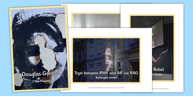 Scottish Artist Douglas Gordon Photo Pack - cfe, scottish, artist, photo pack, photo, pack, douglas gordon