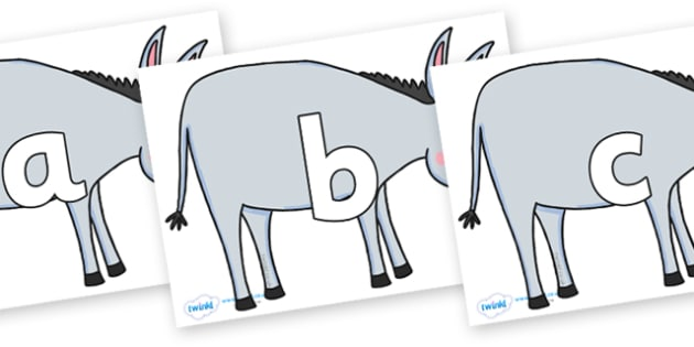 Phoneme Set on Hullabaloo Donkey to Support Teaching on Farmyard Hullabaloo - Phoneme set, phonemes, phoneme, Letters and Sounds, DfES, display, Phase 1, Phase 2, Phase 3, Phase 5, Foundation, Literacy