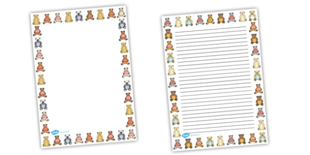 Ten in a Bed Page Borders - Ten in a Bed, 10 in a bed, Literacy, writing, page border, a4 border, template, writing aid, writing border, page template, nursery rhyme, rhyme, rhyming, nursery rhyme story, nursery rhymes, counting rhymes, counting back