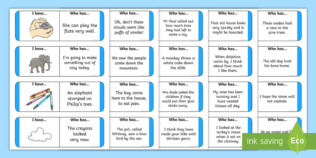Phase 5 Sentences Loop Cards