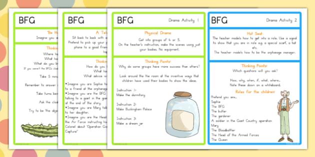 Drama Activities to Support Teaching on The BFG - australia, bfg, drama, activities, giant