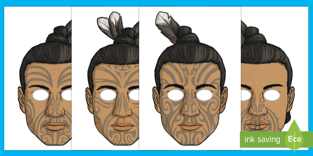 Māui and the Giant Ika Role Play Masks - Maui Myths Maori legends, myth, legend, NZ, role play, masks, dressing up, drama, play script