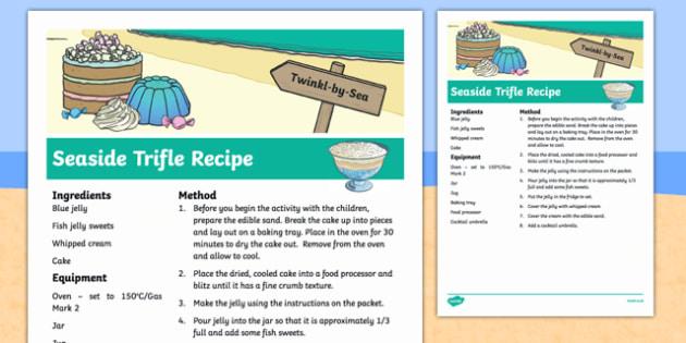 Seaside Trifle Recipe
