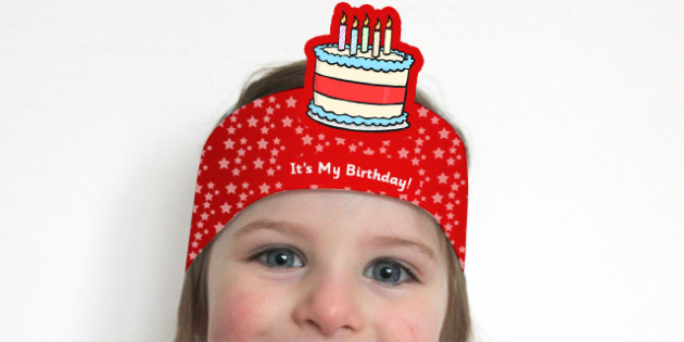 Its My Birthday Headbands - birthdays, awards, rewards, party