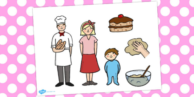 Pat a Cake Stick Puppets - puppet, crafts, activities, activity