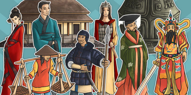 Shang Dynasty Large Display Cut Out Pack - shang, dynasty, display
