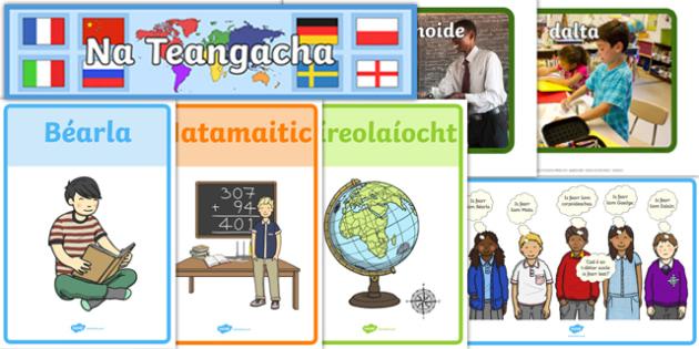 School Display Pack Gaeilge