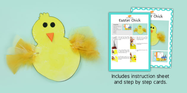 Chick Craft Instructions - chick, craft, instructions, model