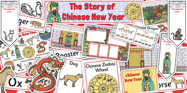Chinese New Year Story Sack - chinese new year, story, sack
