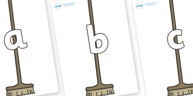 Phoneme Set on Brushes - Phoneme set, phonemes, phoneme, Letters and Sounds, DfES, display, Phase 1, Phase 2, Phase 3, Phase 5, Foundation, Literacy