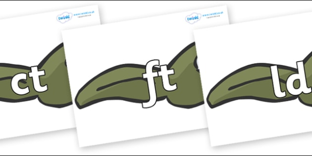 Final Letter Blends on Tadpoles - Final Letters, final letter, letter blend, letter blends, consonant, consonants, digraph, trigraph, literacy, alphabet, letters, foundation stage literacy